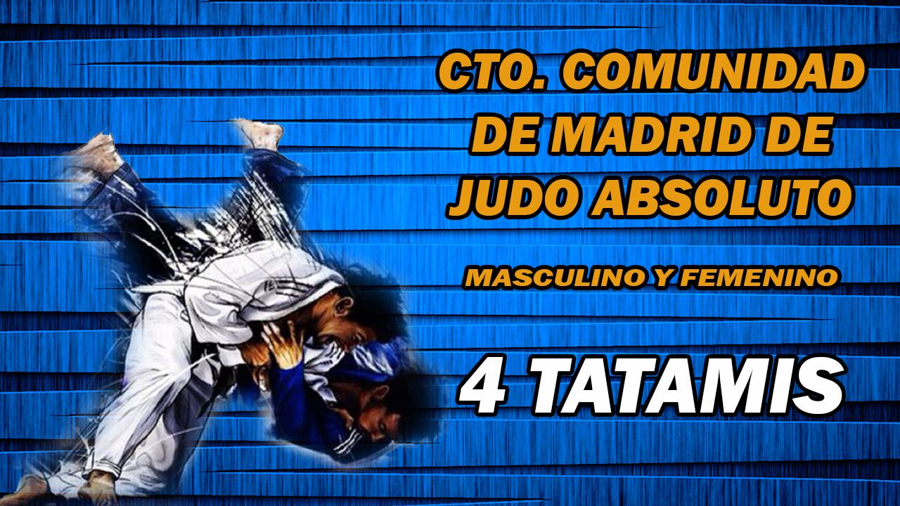 Campeonato de la Comunidad de Madrid de Judo Absoluto 2017